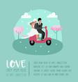 wedding people cartoons bride and groom characters vector image vector image