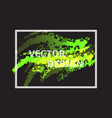 abstract background with green and yellow gradient vector image vector image