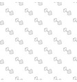 barbell pattern seamless vector image