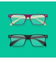 Glasses isolated eyeglasses vector image vector image