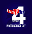 independent day template design vector image