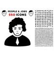 judge icon with bonus vector image vector image
