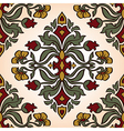 ornament with damask vector image