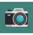 photo camera lens design graphic vector image
