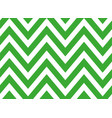 seamless green and white zigzag stripes pattern vector image vector image
