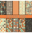 Seamless texture with geometric ornament vector image vector image