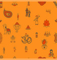 indian festival background vector image vector image