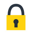 padlock security protection isolated image vector image