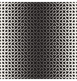 Seamless Black and White Round Line vector image vector image