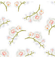 seamless texture branches orchids phalaenopsis vector image vector image