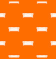 sofa pattern seamless vector image vector image