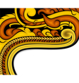 Thai art background vector image vector image