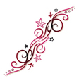 tribal tattoo pink vector image vector image