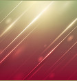abstract light on colorful background vector image