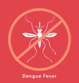 Dengue Fever Poster vector image