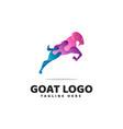 goad gradient modern logo vector image vector image