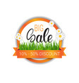 mothers day discounts poster big shopping sale vector image vector image