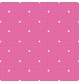 pink dotted lacy seamless pattern vector image vector image