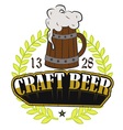 Craft Beer on Tap vector image