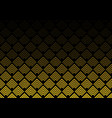 abstract gold color chevron lines pattern on vector image vector image