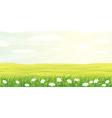 beauty landscape vector image vector image