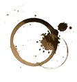 Coffee stain vector | Price: 1 Credit (USD $1)