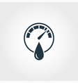 hygrometer icon from measurement icons collection vector image