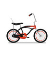 kids bicycle for boy isolated icon vector image vector image