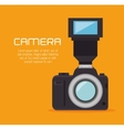 photo camera flash professional design graphic vector image