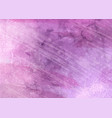 pink detailed watercolour texture background vector image vector image