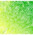 Straight diagonal green lines on a white vector image