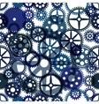Seamless clockwork background Eps8 image vector image