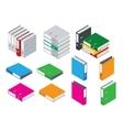Binder blank file folder Office Folder File vector image