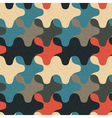 Camouflage geometric ornament vector image
