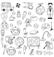 Element education doodles art vector image vector image