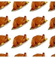 Roast Turkey vector image vector image