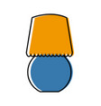 room light lamp vector image vector image