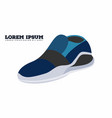 sneakers shoes vector image vector image
