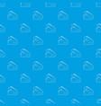 varan pattern seamless blue vector image vector image