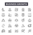 business law line icons signs set vector image