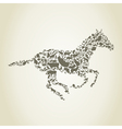 horse animals vector image vector image