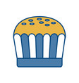 muffin icon image vector image vector image