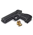 pistol vector image vector image