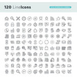 set of premium concept icons vector image