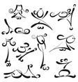 stick figures - female vector image