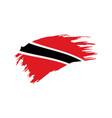 trinidad and tobago flag vector image vector image