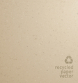 Recycle paper texture vector image