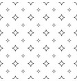 abstract seamless pattern grey stars modern vector image vector image
