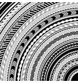 maori style ethhnic ornaments vector image vector image