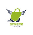 Shopping delivery logo